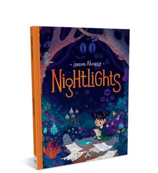 Nightlights – mockup sito