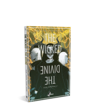 Wicked + The Divine 5 – mockup sito